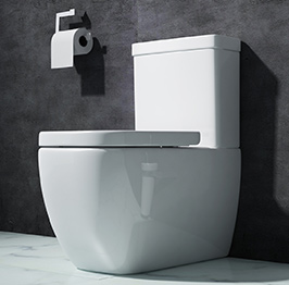 design stand wc toilette bodenstehend tiefsp ler mit silent close a101t neu wow ebay. Black Bedroom Furniture Sets. Home Design Ideas