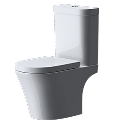 design stand wc toilette bodenstehend tiefsp ler mit silent close a108t wow neu ebay. Black Bedroom Furniture Sets. Home Design Ideas