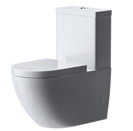 design stand wc toilette bodenstehend tiefsp ler mit silent close aachen376b ebay. Black Bedroom Furniture Sets. Home Design Ideas