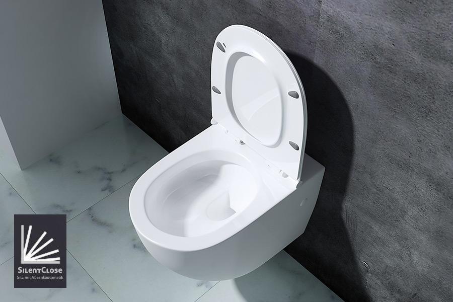 wc toilette wc suspendu abattant silencieux lunette de wc a502 promo ebay. Black Bedroom Furniture Sets. Home Design Ideas