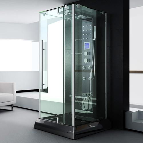 Luxus duschkabine  LUXUS DUSCHTEMPEL DUSCHKABINE MIT DUSCHPANEEL UND LICHT / RADIO ...