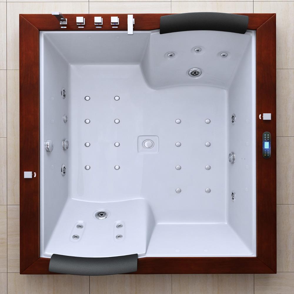 luxus whirlpool jacuzzi spa badewanne mit radio licht aveiro2007. Black Bedroom Furniture Sets. Home Design Ideas