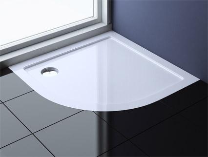 extrem flache design duschtasse duschwanne aus resalit. Black Bedroom Furniture Sets. Home Design Ideas