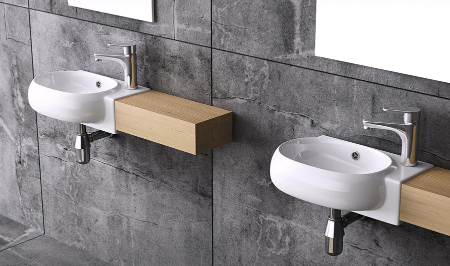 handwaschbecken waschschale waschbecken waschtisch g ste wc waschschale br001 ebay. Black Bedroom Furniture Sets. Home Design Ideas
