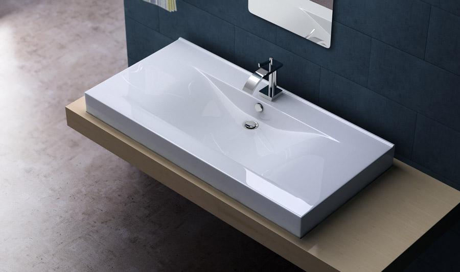 design keramik waschschale einbau waschbecken waschtisch. Black Bedroom Furniture Sets. Home Design Ideas