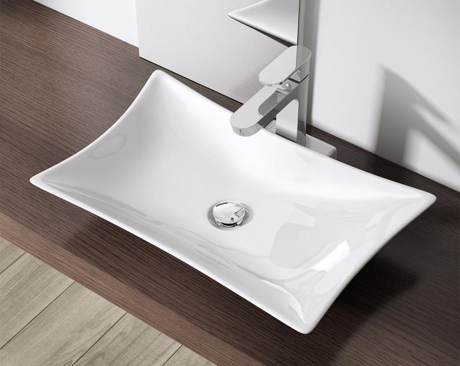 keramik waschschale wandmontage waschbecken waschtisch 56. Black Bedroom Furniture Sets. Home Design Ideas