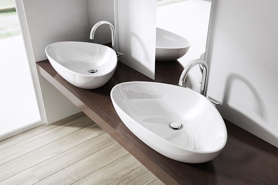 design keramik waschschale aufsatz waschbecken waschtisch waschplatz br ssel895 ebay. Black Bedroom Furniture Sets. Home Design Ideas