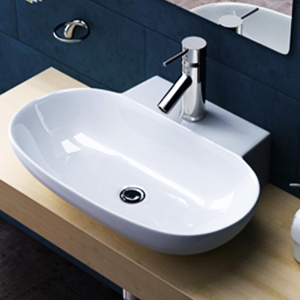 keramik waschschale aufsatz h nge waschbecken waschtisch. Black Bedroom Furniture Sets. Home Design Ideas