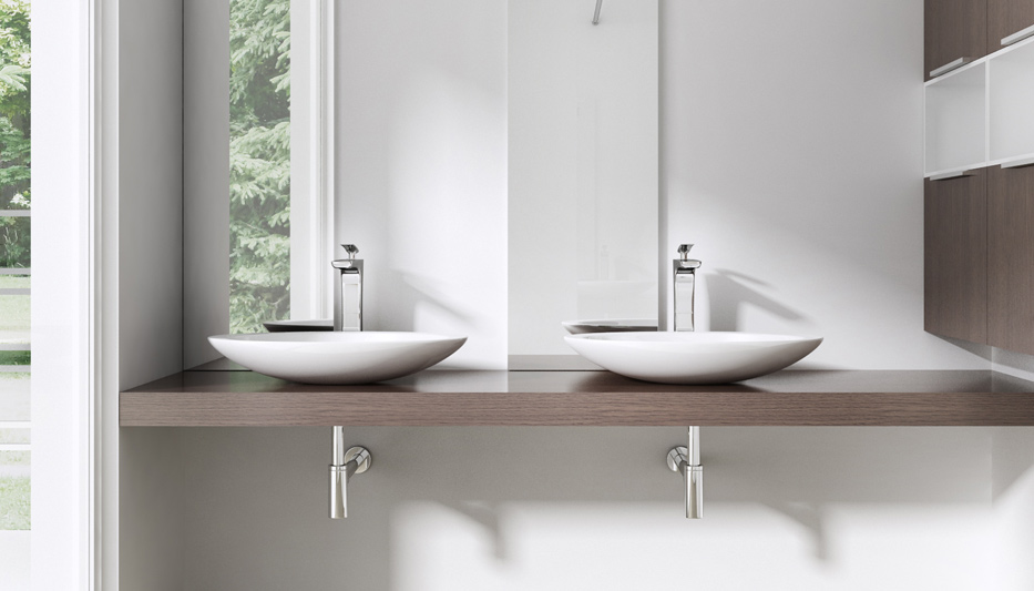 Design Gussmarmor Waschbecken Stand Waschtisch Wachplatz