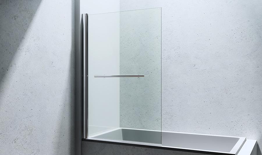 paroi pare douche porte de douche pour baignoire verre de s curit cortona1121 ebay. Black Bedroom Furniture Sets. Home Design Ideas