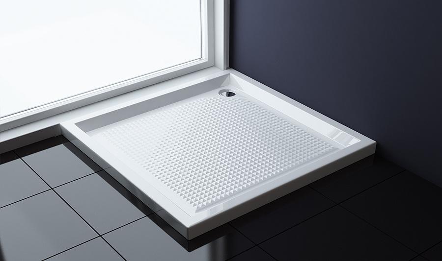 duschtasse mit antirutsch oberfl che duschwanne dusche acrylwanne faro1ar ebay. Black Bedroom Furniture Sets. Home Design Ideas
