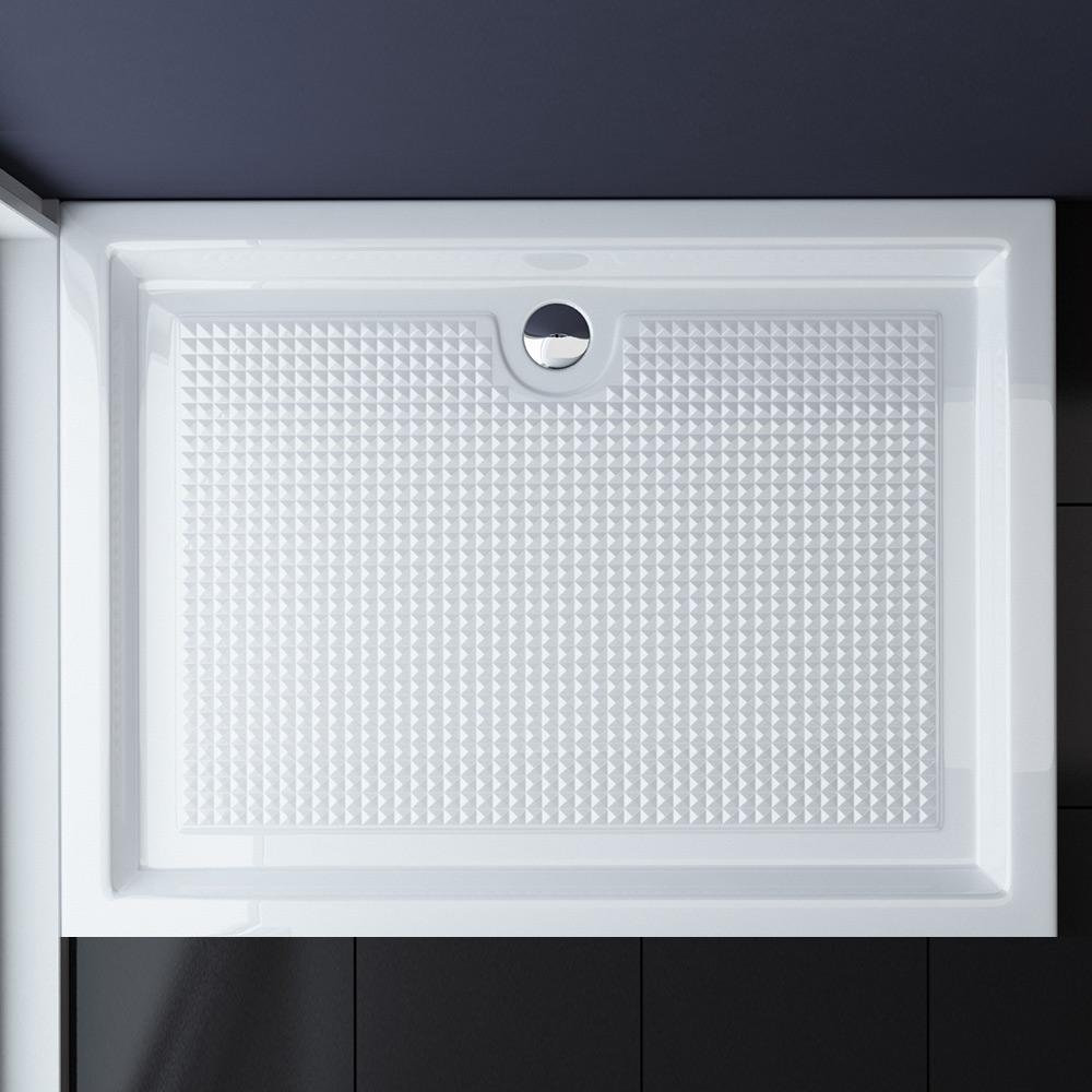 duschtasse mit antirutsch oberfl che duschwanne dusche acrylwanne faro2ar ebay. Black Bedroom Furniture Sets. Home Design Ideas