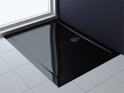 duschtasse duschwanne dusche acrylwanne f r ihr luxus bad schwarz faro2b ebay. Black Bedroom Furniture Sets. Home Design Ideas