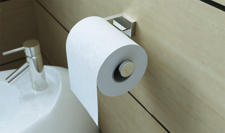 design toilettenpapierhalter mma806 edel verchromt wc rollenhalter. Black Bedroom Furniture Sets. Home Design Ideas