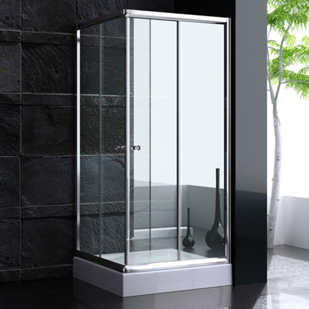 esg duschabtrennung duschkabine dusche schiebet r mit