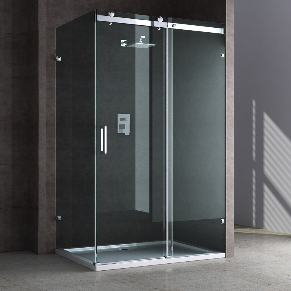 Dusche Schiebet?ren Aus Glas : Sliding Shower Enclosure