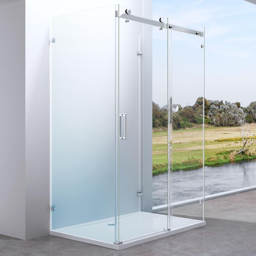 duschkabine duschabtrennung dusche schiebet r luxus ravenna17 2 u form ebay. Black Bedroom Furniture Sets. Home Design Ideas