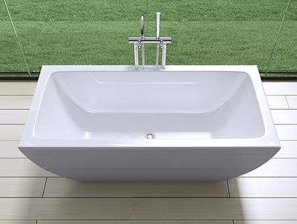 design badewanne freistehend standbadewanne vicenza825 ebay. Black Bedroom Furniture Sets. Home Design Ideas